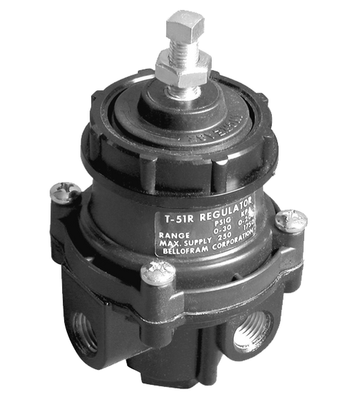 "Bellofram Type 51 R Regulator, 1/4"" NPT, 0-60 PSI, 960-223-000"