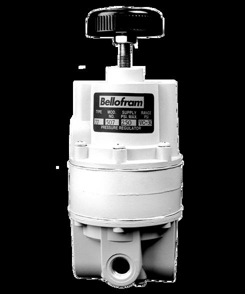 """Bellofram Type 77 Vacuum Regulator, 1/4"""" NPT, Vac to 100 PSI, 960-503-000"""