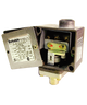 Barksdale Series E1H Dia-Seal Piston Pressure Switch, Housed, Single Setpoint, 1 to 30 In Hg Vacuum, E1H-R-VAC-P6