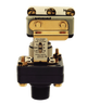 Barksdale Series E1S Dia-Seal Piston Pressure Switch, Stripped, Single Setpoint, 0.5 to 15 PSI, E1S-H15-P4-F2