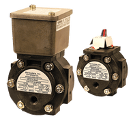 Barksdale Series EPD1H Differential Pressure Switch, Housed, Single Setpoint, 0.3 to 3 PSI, EPD1H-AA40
