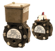 Barksdale Series EPD1S Differential Pressure Switch, Stripped, Single Setpoint, 0.3 to 3 PSI, EPD1S-AA40