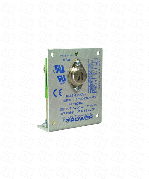 International Power Single Output Linear Power Supply IHA5-1.2/OVP