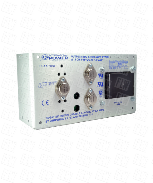 International Power Triple Output Linear Power Supply IHCAA-60W