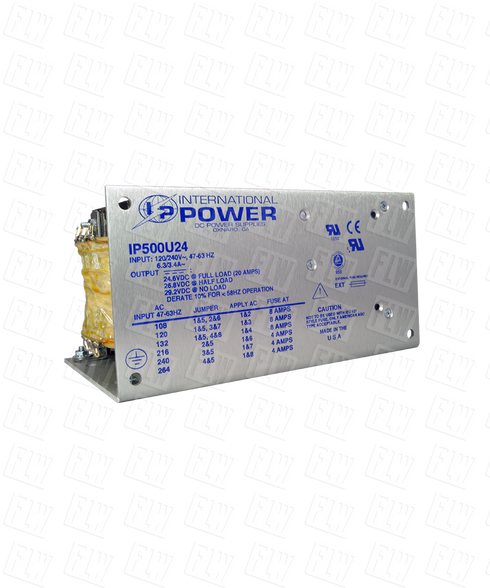 International Power Unregulated Power Supply Line IP500U24