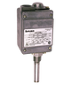 Barksdale L2H Series Local Mount Temperature Switch, Dual Setpoint, 75 F to 200 F, L2H-L203S-WS
