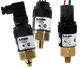 Barksdale Compact Pressure Switch, 22.5 to 125 PSI, L96211-BB4-S0113