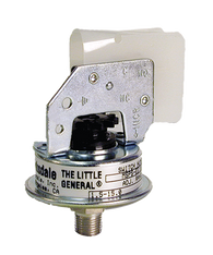 Barksdale Series MSPS Industrial Pressure Switch, Stripped, Single Setpoint, 1.5 to 15 PSI, MSPS-FF15SS-V