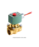 ASCO Series EF8210 2-Way Solenoid Valve EF8210G002 120/60,110/50
