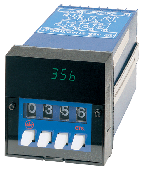 ATC 356C Shawnee II 9999 Counts Predetermining Counter, 356C-350-Q-30-PX