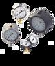 WIKA Type 232.53AM Stainless Steel Industrial Gauge 0-30 in Hg Vacuum / 150 PSI 9797144