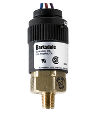 Barksdale Series 96201 Compact Pressure Switch, Single Setpoint, 2.5 to 15 PSI, T96211-BB1
