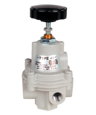"Bellofram Type 41-2 Adjustable Precision Regulator (With Bonnet Vent Port), 1/4"" NPT, 0-60 PSI, 960-182-000"