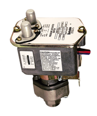 Barksdale Series C9622 Sealed Piston Pressure Switch, Housed, Dual Setpoint, 35 to 400 PSI, C9622-1-V