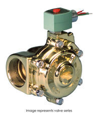 ASCO Hot Water And Steam Valve 8222G066 120/60AC