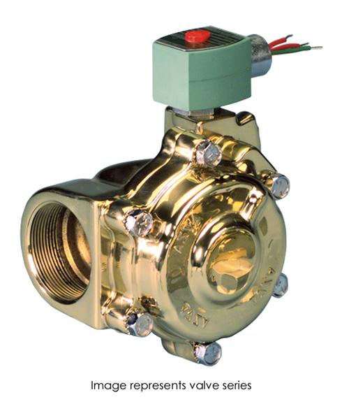 ASCO Hot Water And Steam Valve 8222G005 120/60AC