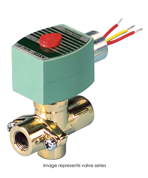 ASCO Hot Water And Steam Valve 8267G023 120/60AC