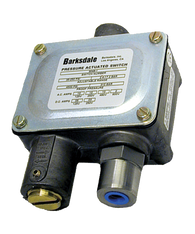 Barksdale Series 9048 Sealed Piston Pressure Switch, Housed, Single Setpoint, 700 to 10000 PSI, 9048-6-CS-V