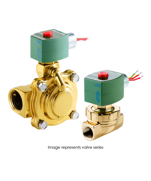 ASCO Hot Water And Steam Valve 8220G403 120/60AC