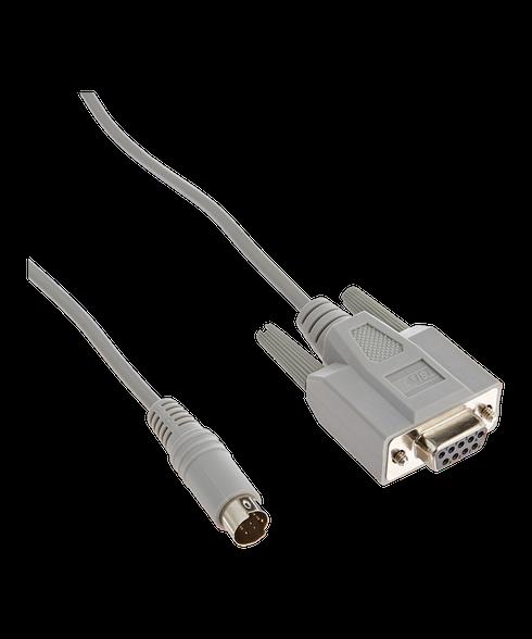 TSI 8 Pin Mini Din to 9 Pin D-Sub Computer Cable 1303583