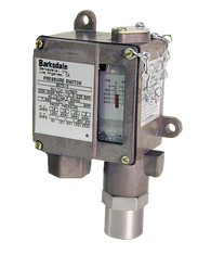 Barksdale Series 9675 Sealed Piston Pressure Switch, Housed, Single Setpoint, 100 to 1500 PSI, 9675-2-V