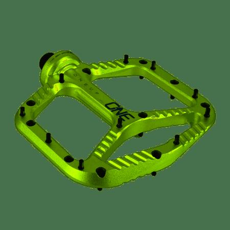 ONEUP Aluminum Platform Pedals Green