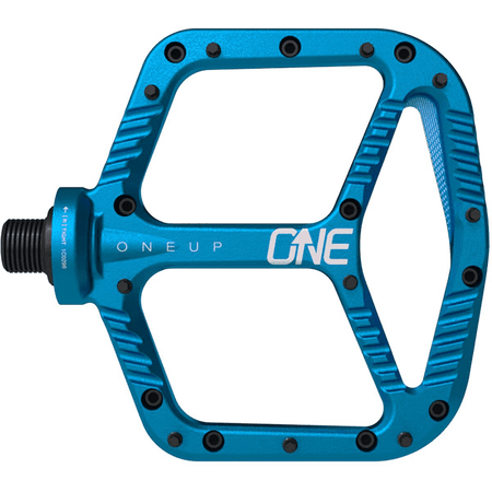ONEUP Aluminum Platform Pedals Blue