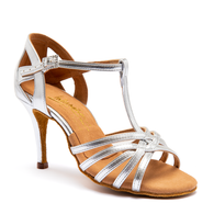 "Lucia - Gold - Pictured on the 3"" Ultra Slim heel."