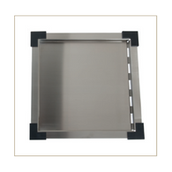 INTERCHANGE STAINLESS STEEL DRAIN TRAY FITS VARIOUS SINKS - UTDT