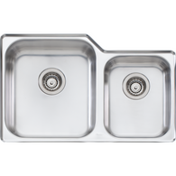 OLIVERI NU PETITE 1 3/4 BOWL SINK WITH 3 ACCESSORIES - NP61U/NP62U