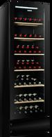 VINTEC BLACK 198  BOTTLE MULTI TEMP WINE CABINET - V190SG2E-BK