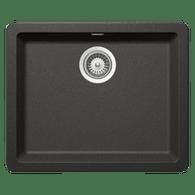 ABEY SCHOCK 490MM CRISTADUR SINGLE BOWL SINK - N120 + Colour