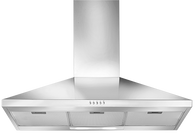ARTUSI 90CM 3 FLARE CANOPY - 900m3 - ACH900X