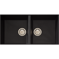 OLIVERI SANTORINI DOUBLE BOWL UNDERMOUNT SINK - ST-BL1563U