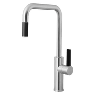 ABEY ARMANDO VICARIO BRUSHED HIGH HEAD PULLOUT TAP - LUZ-BC