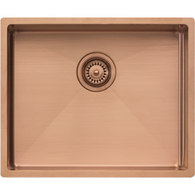 OLIVERI SPECTRA 500MM SINGLE BOWL COPPER SINK - CS01CU