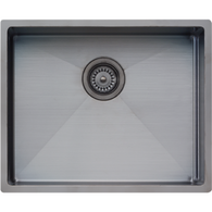 OLIVERI SPECTRA 500MM SINGLE BOWL GUNMETAL SINK - CS01GM