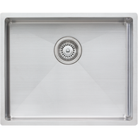 OLIVERI SPECTRA 500MM SINGLE BOWL STAINLESS STEEL SINK - CS01SS