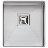 OLIVERI PROFESSIONAL 380MM SINGLE BOWL UNDERMOUNT SINK - PR1130U