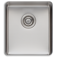 OLIVERI SONETTO 355MM SINGLE BOWL UNDERMOUNT SINK - SN1030U