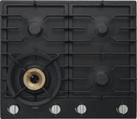 ASKO 60CM GRAPHITE BLACK GAS COOKTOP - 4 BURNER - HG1666AD