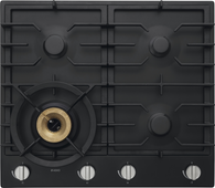 ASKO 60CM GRAPHITE BLACK GAS COOKTOP - 4 BURNER - HG1666AD
