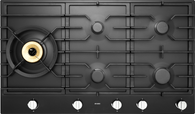 ASKO 90CM GRAPHITE BLACK GAS COOKTOP - 5 BURNER - HG1986AD