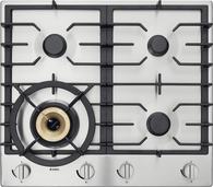 ASKO 60CM STAINLESS STEEL GAS COOKTOP - 4 BURNER - HG1666SD
