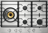 ASKO 75CM STAINLESS STEEL GAS COOKTOP - 5 BURNER - HG1776SD
