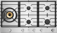 ASKO 90CM STAINLESS STEEL GAS COOKTOP - 5 BURNER - HG1986SD