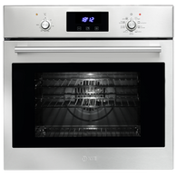 ILVE 60CM MULTI FUNCTION OVEN - KNOB CONTROL WITH CLOCK - 600SKMPI