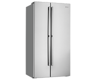 WESTINGHOUSE 620L S/STEEL SIDE BY SIDE FRIDGE - WSE6200SA