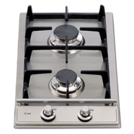 ILVE 30CM DOMINO-NOSTALGIE SERIES GAS COOKTOP - 2 BURNER - H30V