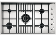 BARAZZA 90CM LAB FLUSHMOUNT GAS COOKTOP - LABH900